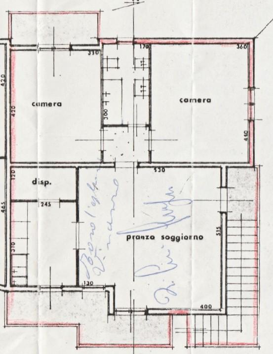 Planimetria 1/1 per rif. D2225