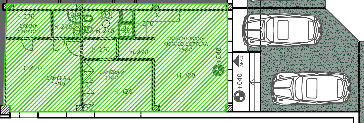 Planimetria 1/2 per rif. S2250