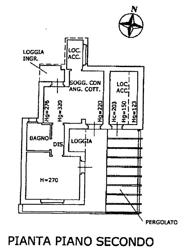 Planimetria 1/1 per rif. D2235