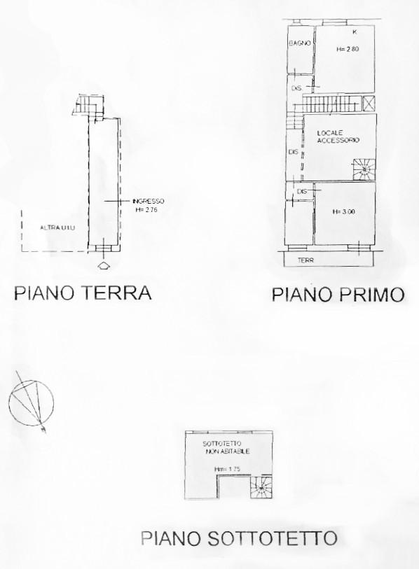Planimetria 1/1 per rif. D2238