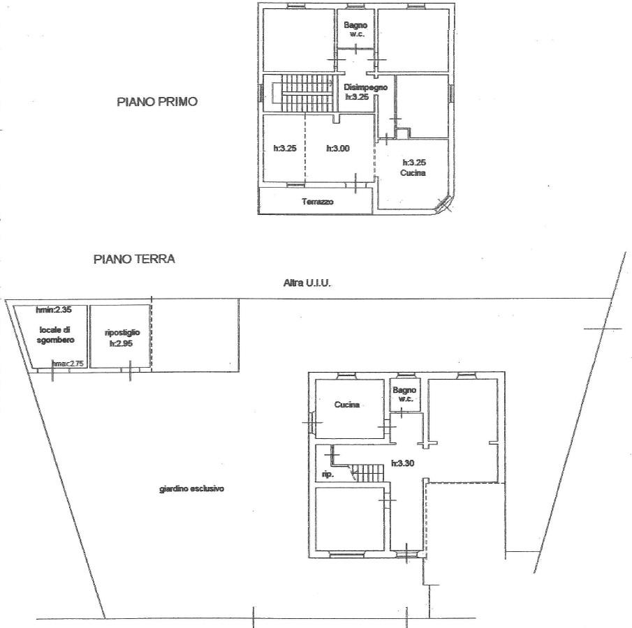 Planimetria 1/1 per rif. G2246
