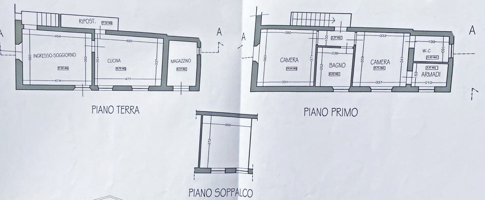 Planimetria 1/1 per rif. D2240