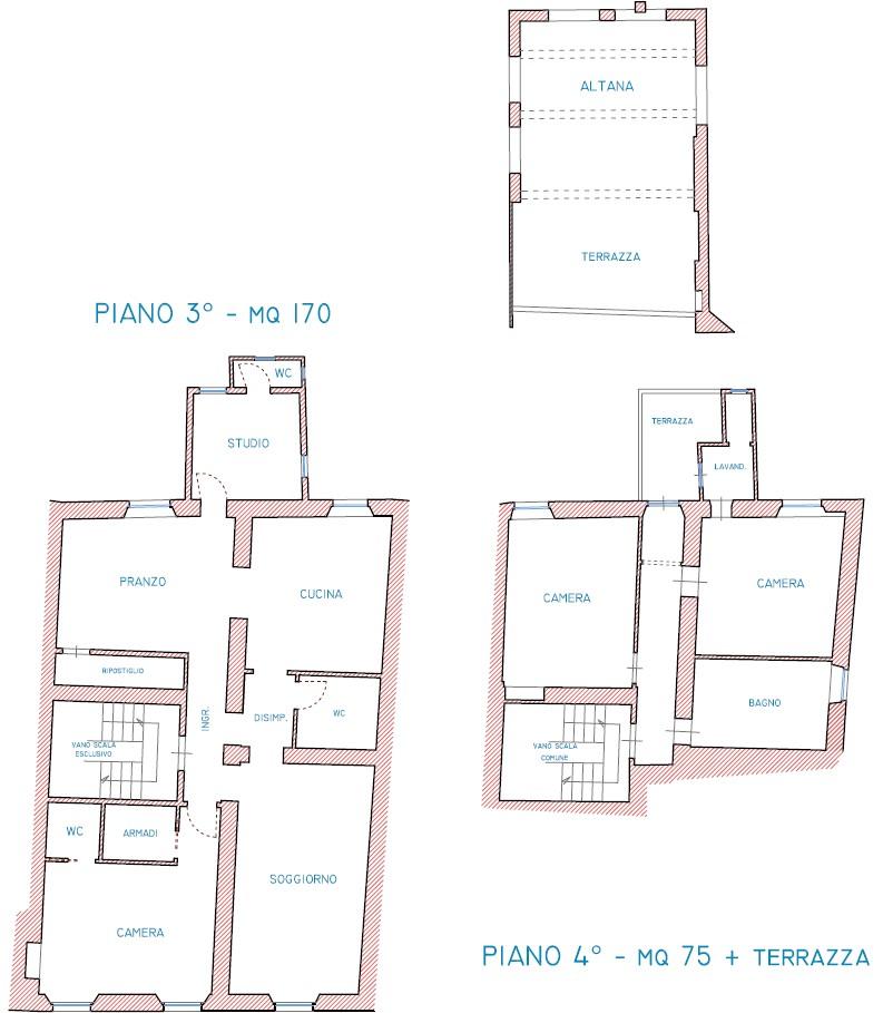 Planimetria 1/1 per rif. S2268