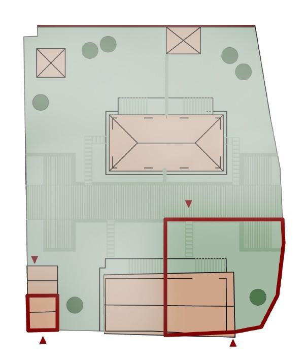 Planimetria 1/4 per rif. S2274