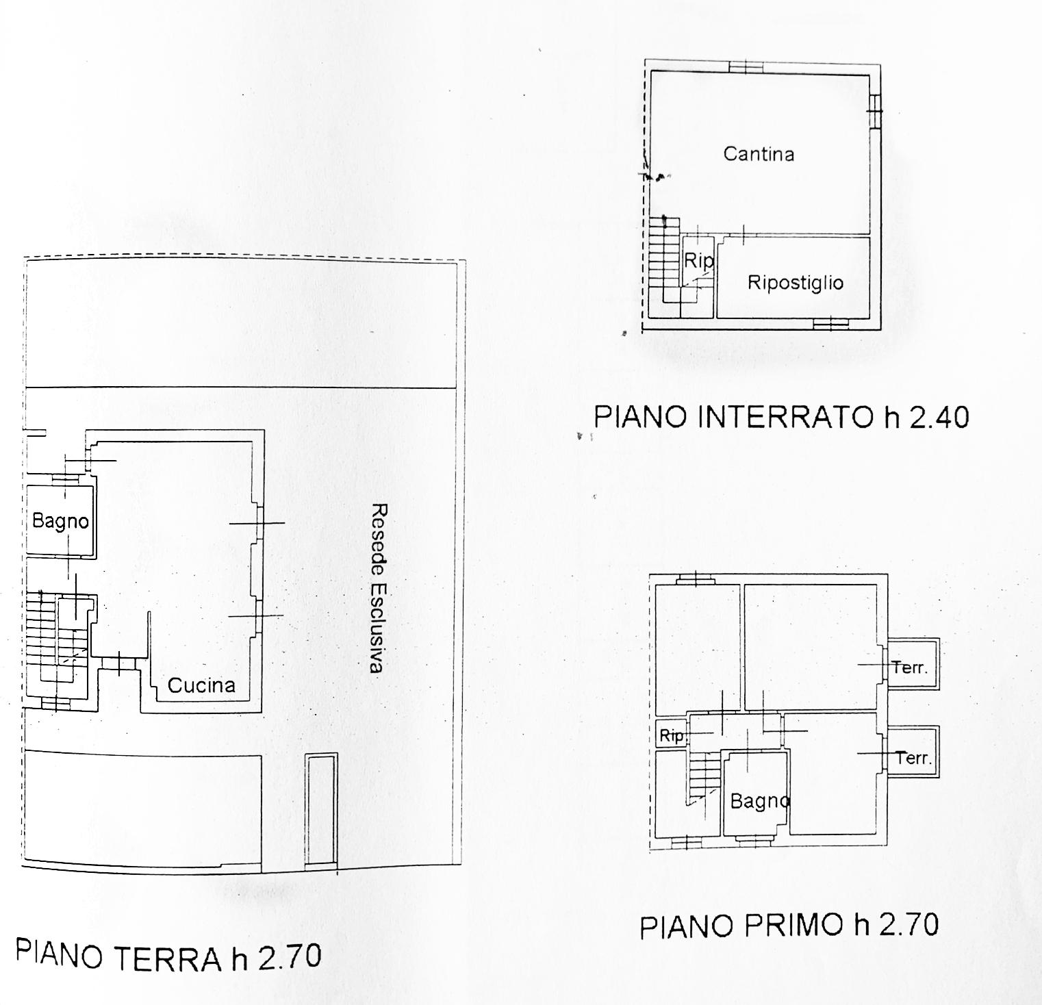 Planimetria 1/1 per rif. D2282