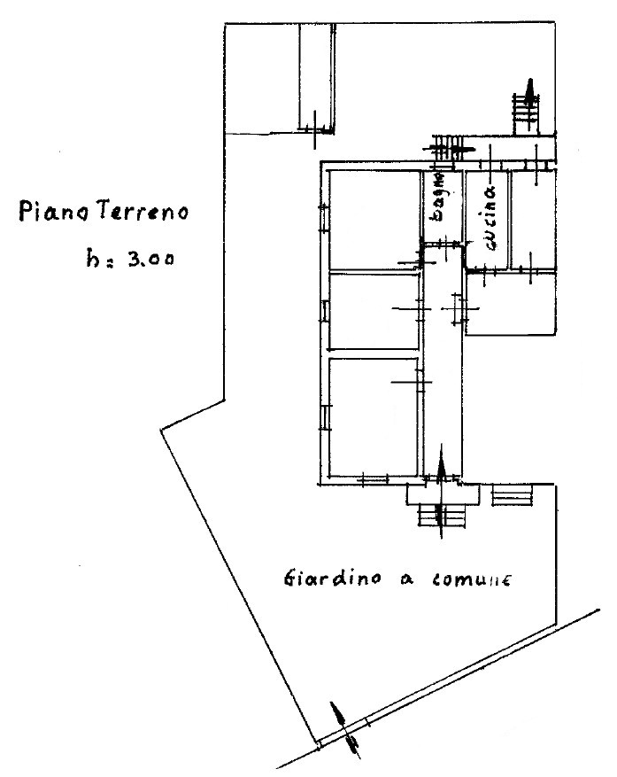 Planimetria 1/1 per rif. S2291