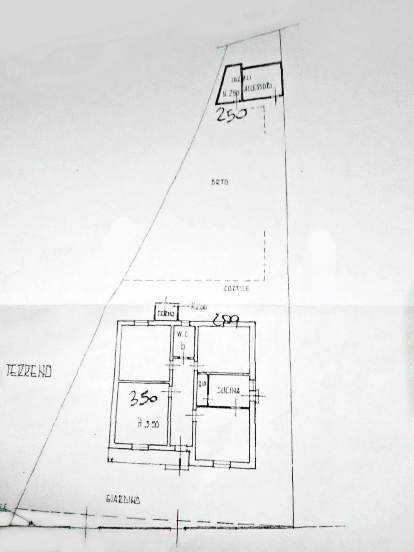 Planimetria 1/1 per rif. D2285