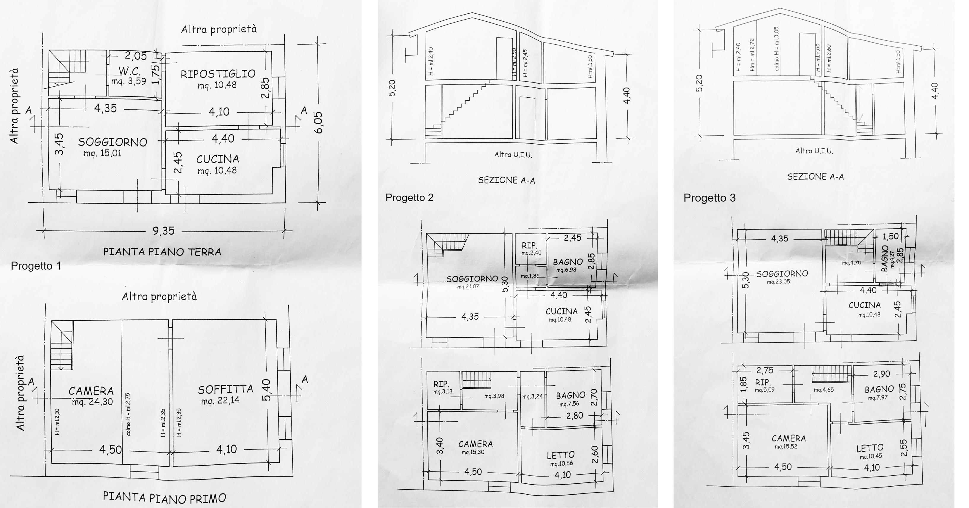 Planimetria 1/1 per rif. D2286