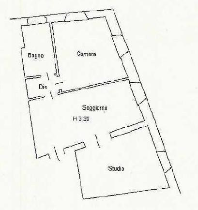 Planimetria 1/1 per rif. D2287