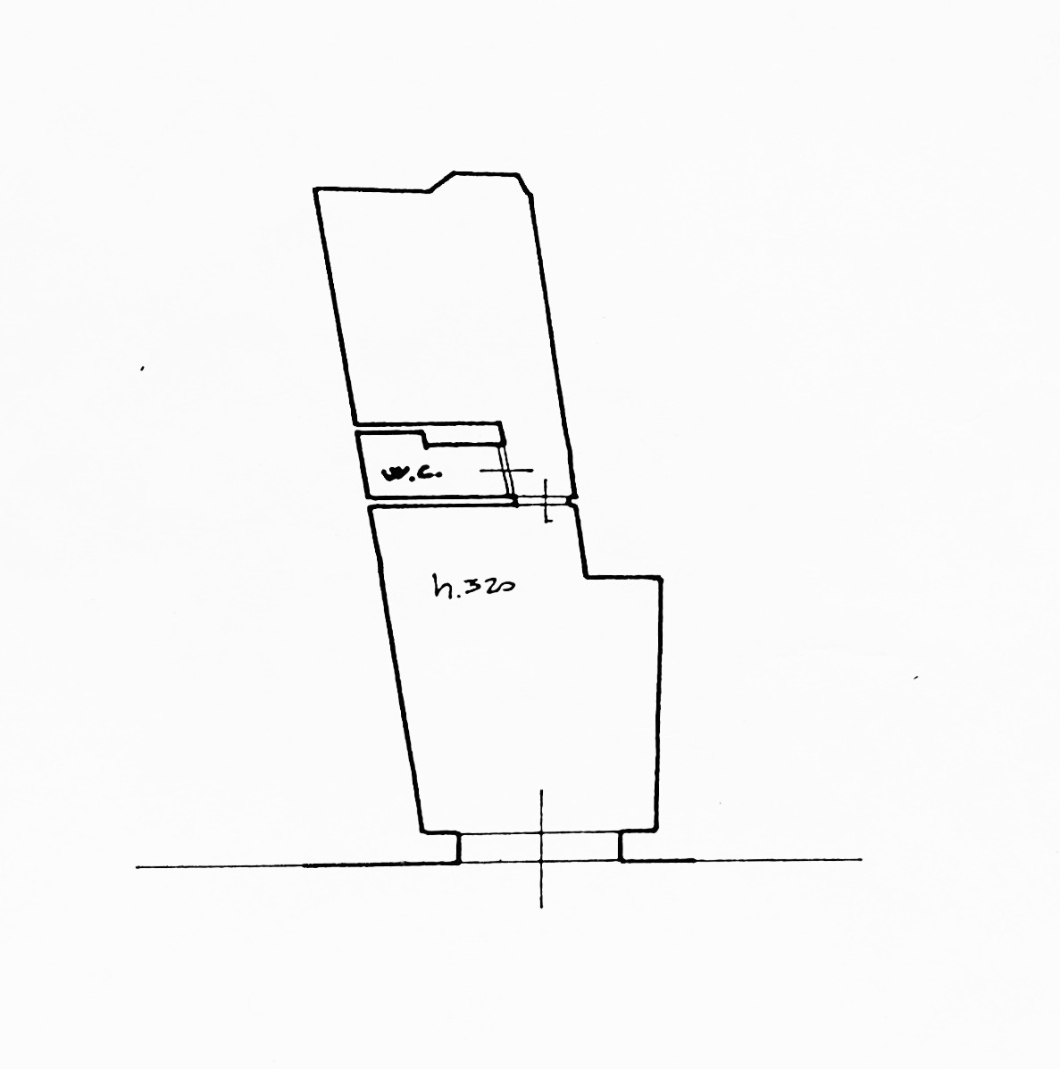Planimetria 1/1 per rif. G2248
