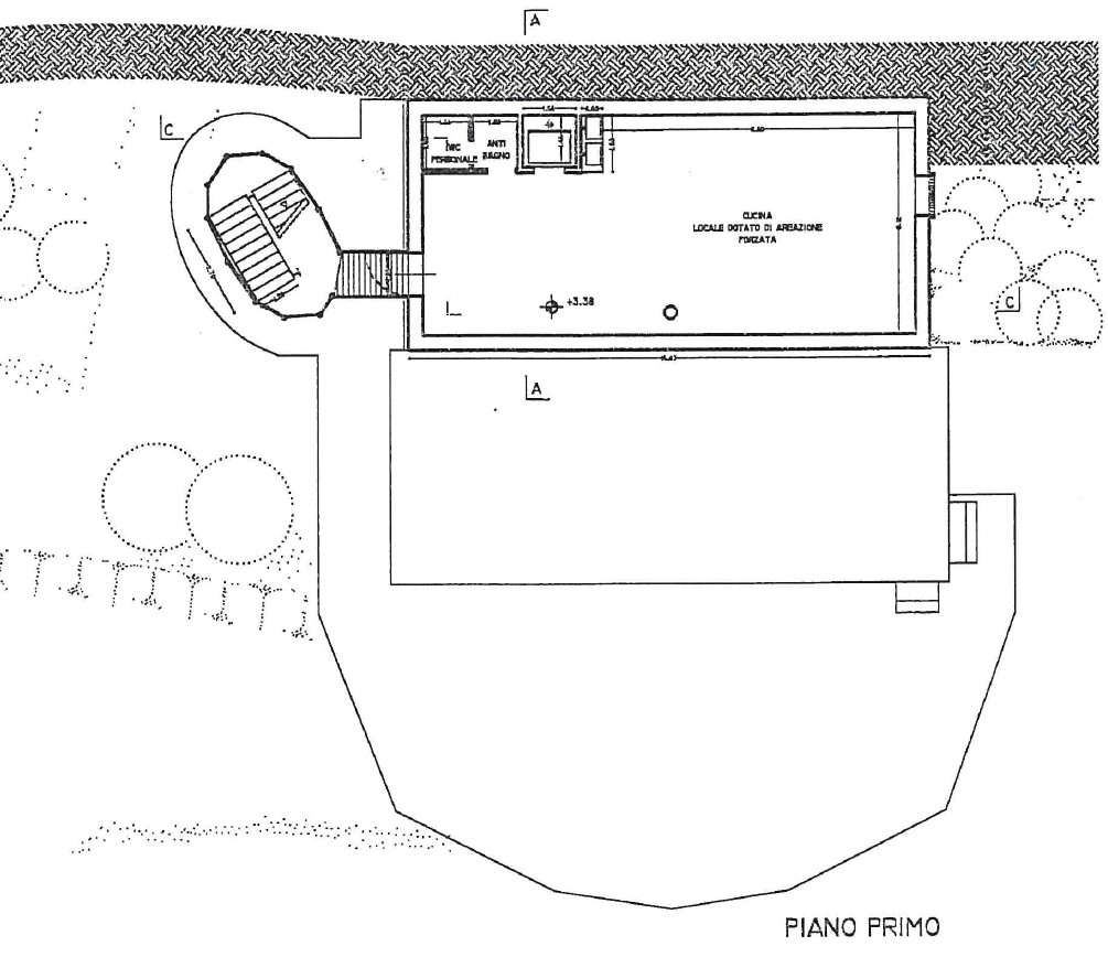 Planimetria 2/5 per rif. S2301