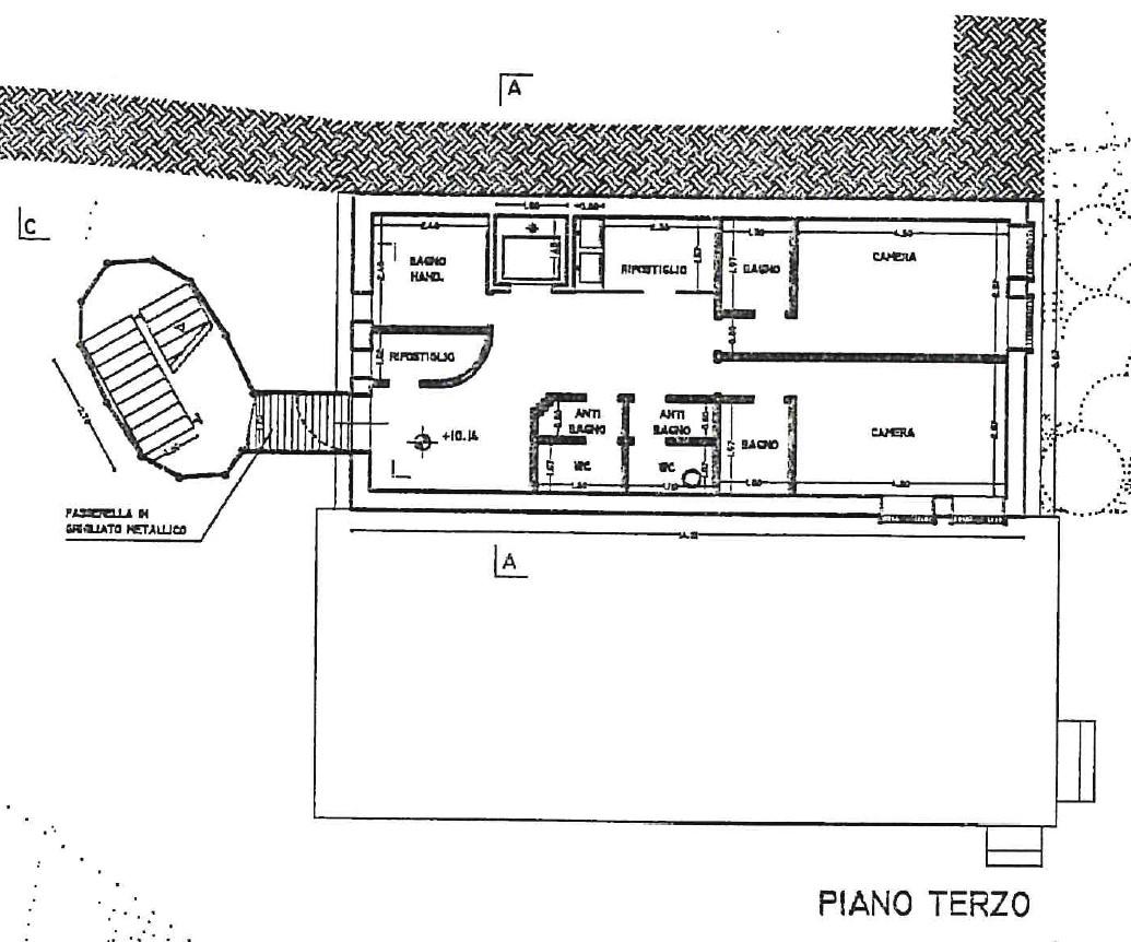 Planimetria 4/5 per rif. S2301