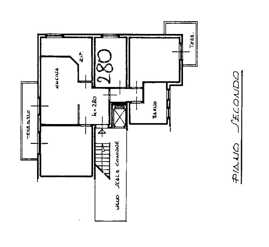 Planimetria 1/1 per rif. D2290