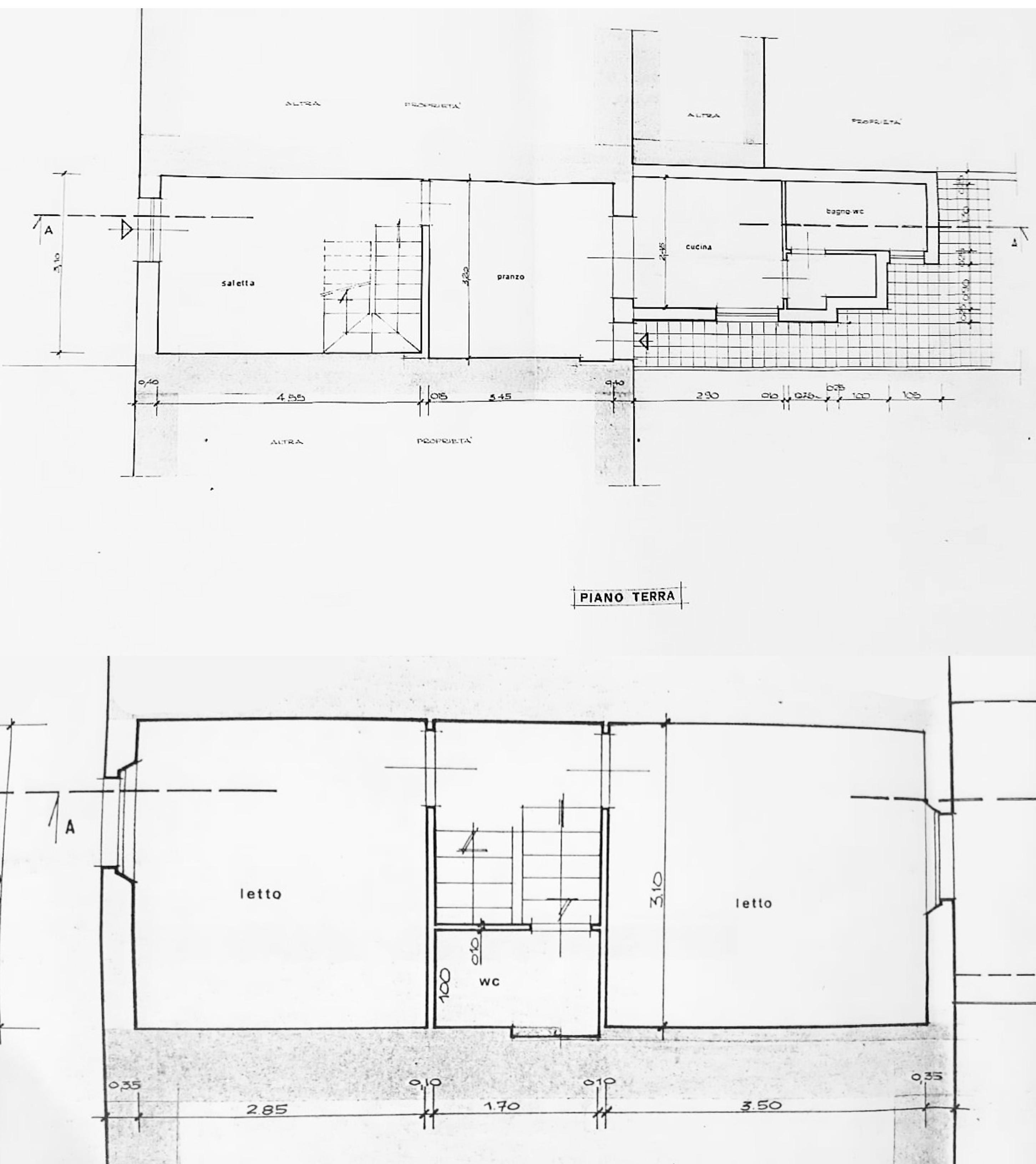 Planimetria 1/1 per rif. D2292