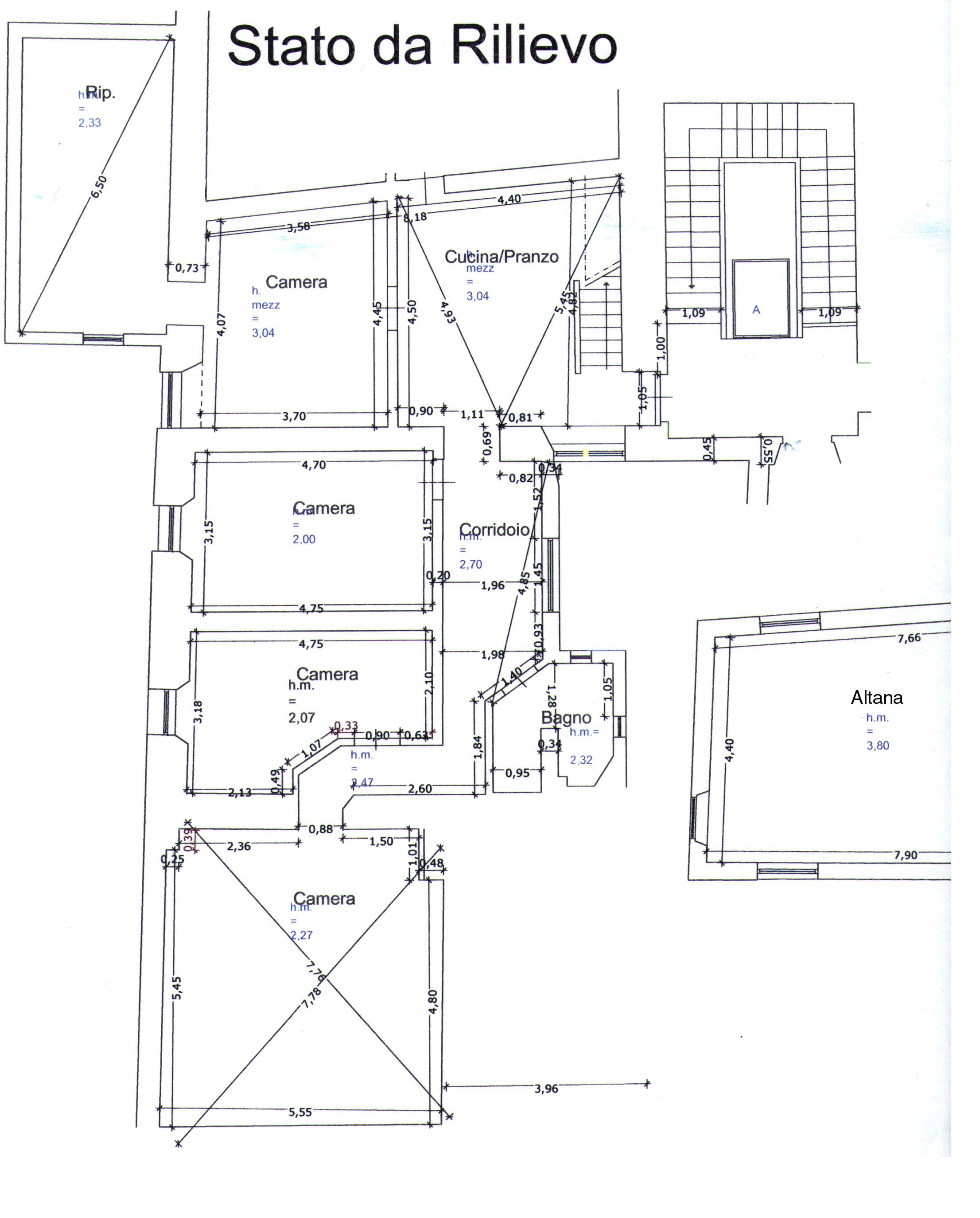 Planimetria 1/1 per rif. DE10