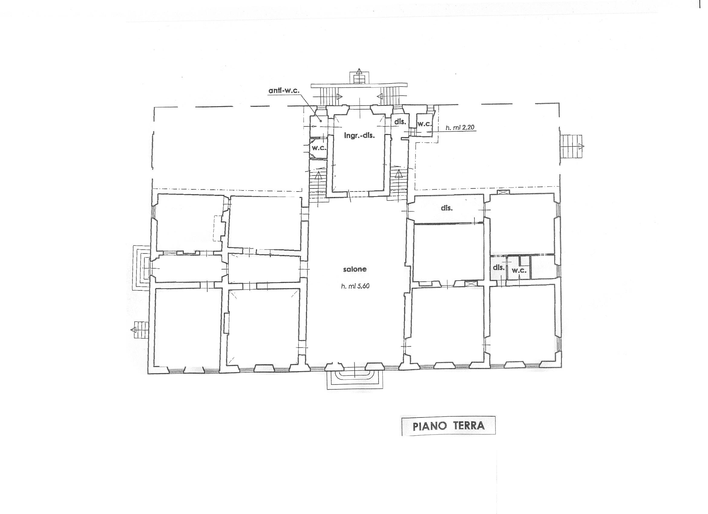 Planimetria 1/1 per rif. DE85