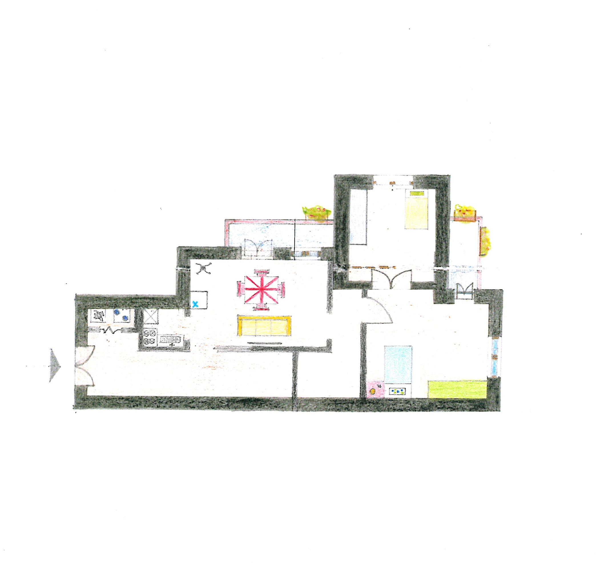 Planimetria 1/1 per rif. C1024
