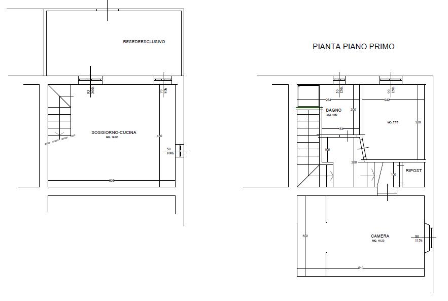 Planimetria 1/1 per rif. DE162