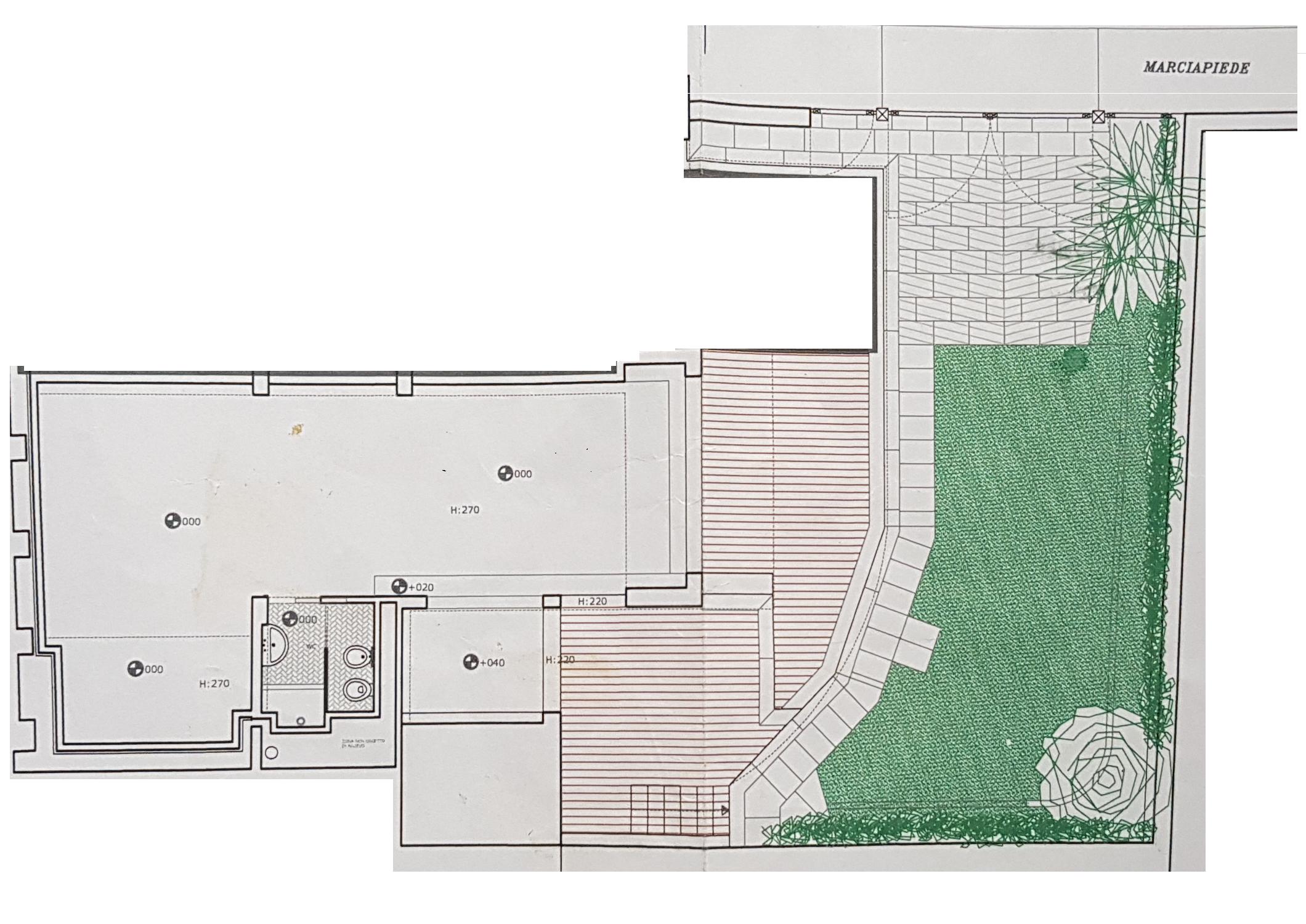 Planimetria 1/1 per rif. DE160