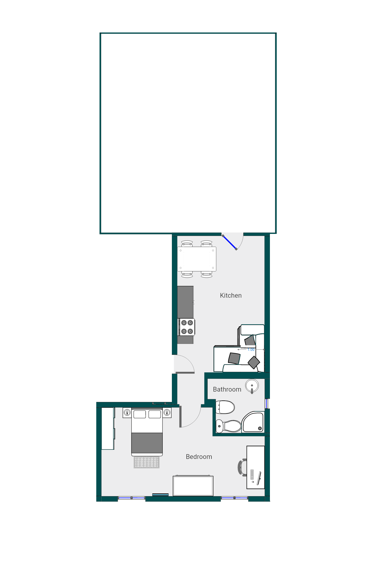 Planimetria 2/3 per rif. DE194