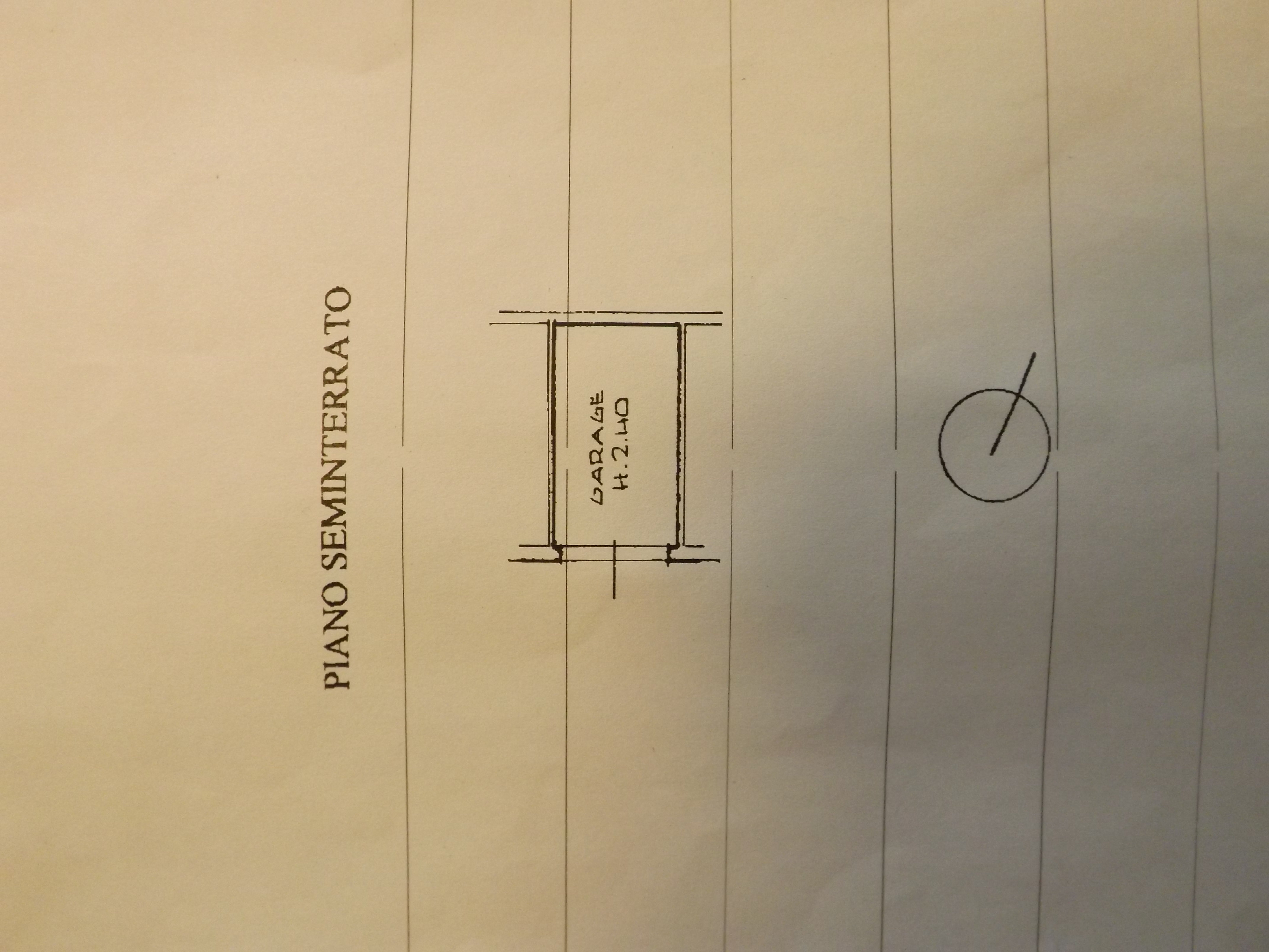 Planimetria 2/2 per rif. V975