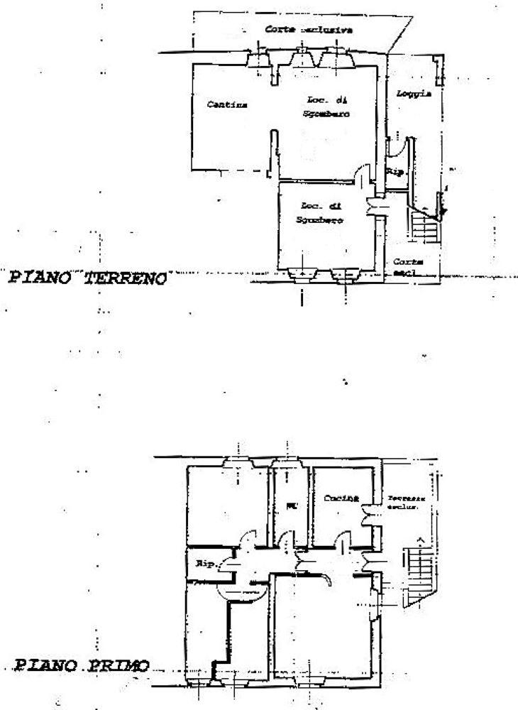 Planimetria 1/1 per rif. C340