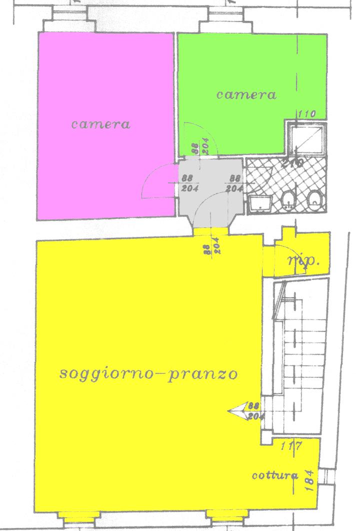Planimetria 1/1 per rif. C238