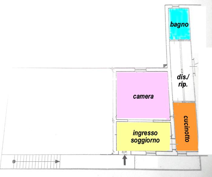 Planimetria 1/1 per rif. C280