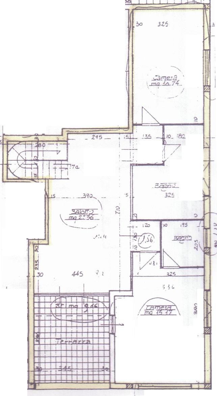 Planimetria 2/2 per rif. C287