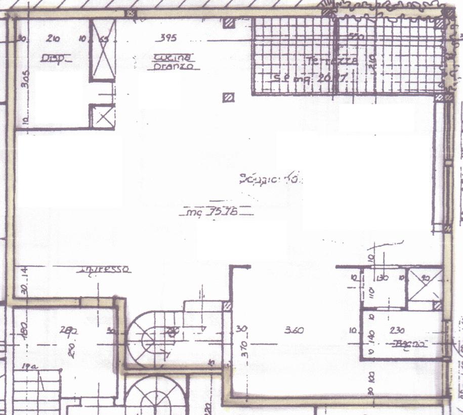 Planimetria 1/2 per rif. C287