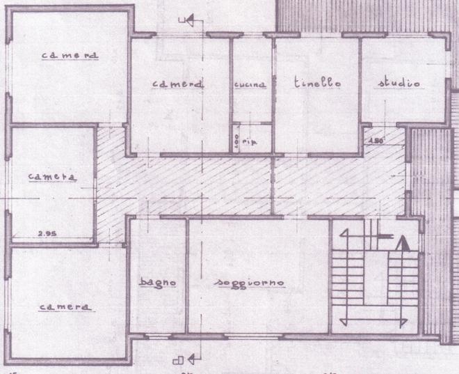 Planimetria 1/2 per rif. C289