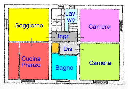 Planimetria 1/1 per rif. C304