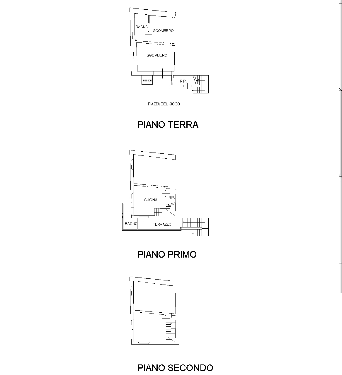 Planimetria 1/1 per rif. C309