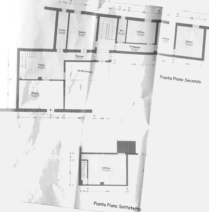 Planimetria 1/1 per rif. C311