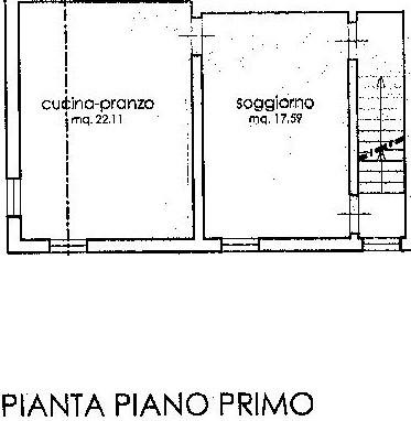 Planimetria 2/4 per rif. C317