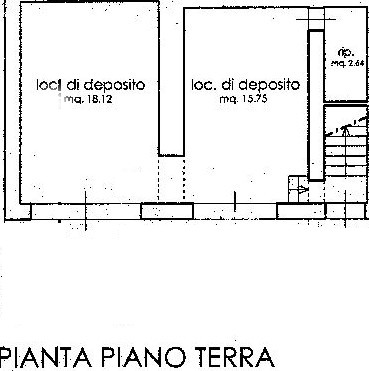 Planimetria 1/4 per rif. C317