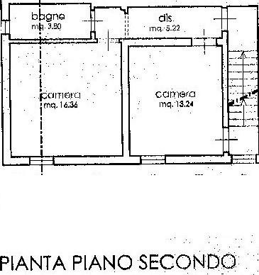 Planimetria 3/4 per rif. C317