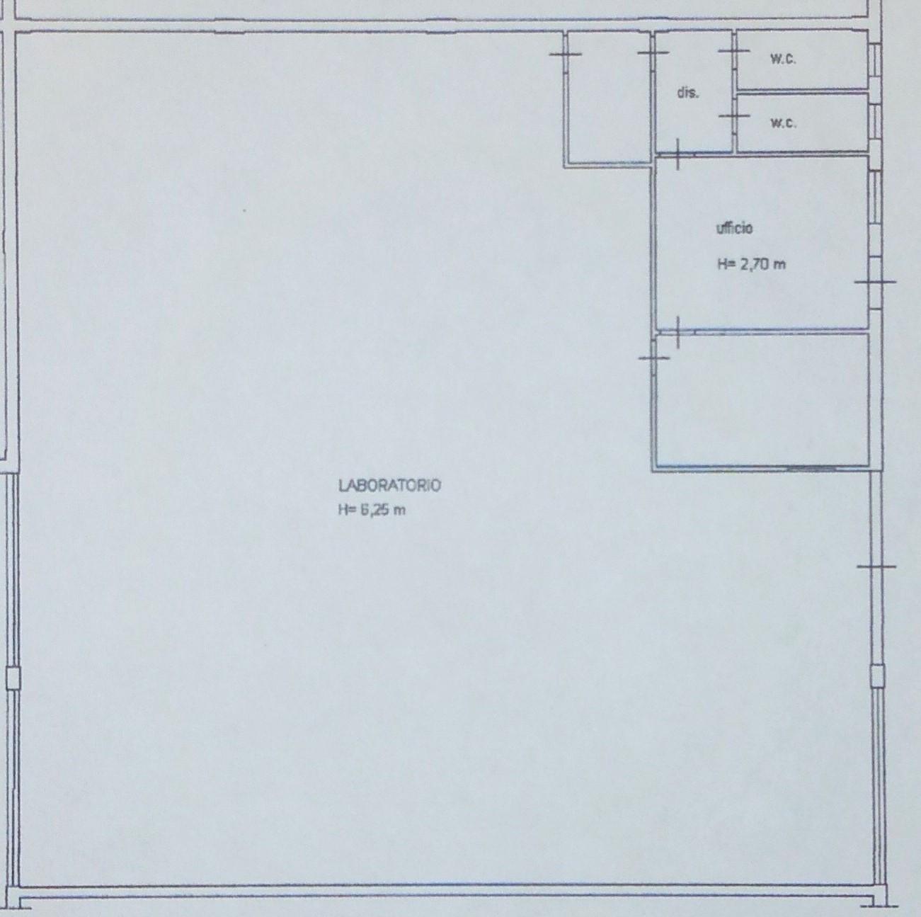 Planimetria 1/1 per rif. C320