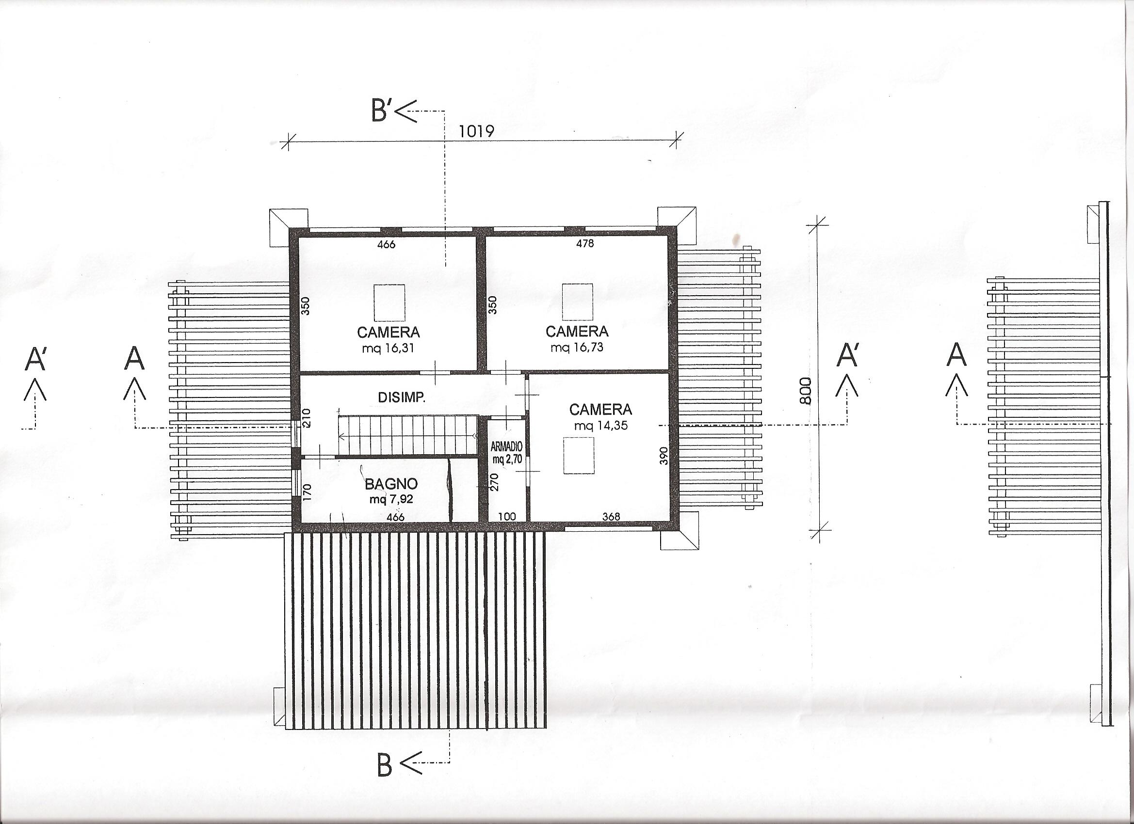 Planimetria 2/2 per rif. B229