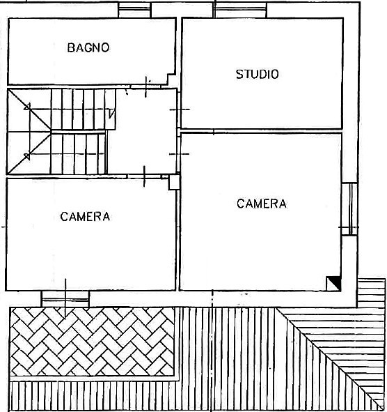 Planimetria 2/3 per rif. C322
