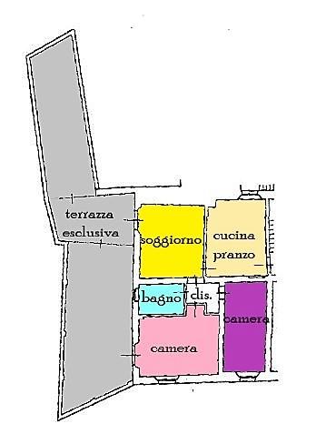 Planimetria 1/1 per rif. C326