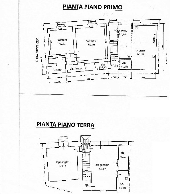 Planimetria 1/1 per rif. C328