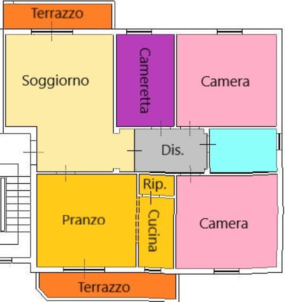 Planimetria 1/1 per rif. C331