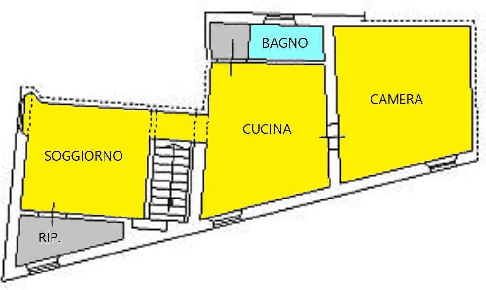 Planimetria 1/1 per rif. C332