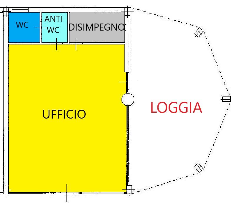 Planimetria 1/1 per rif. C333