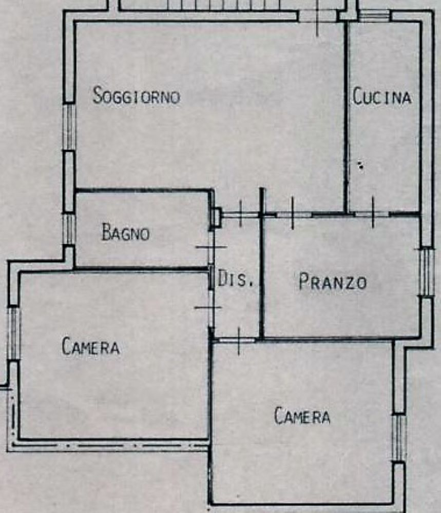 Planimetria 1/1 per rif. C335