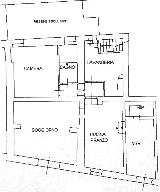 Planimetria 1/1 per rif. A671