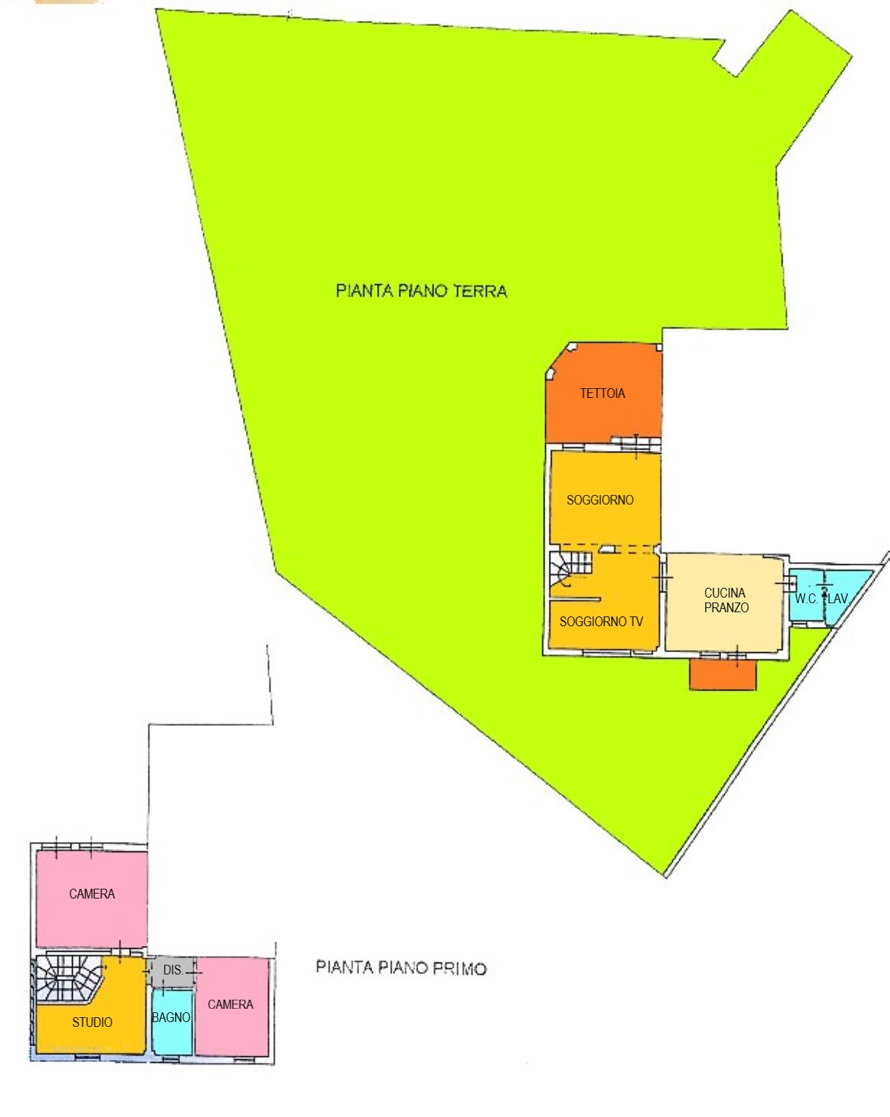 Planimetria 1/1 per rif. C337