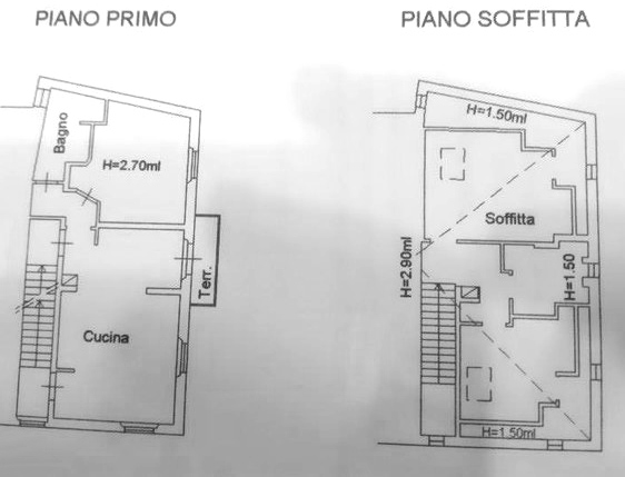 Planimetria 1/1 per rif. C167
