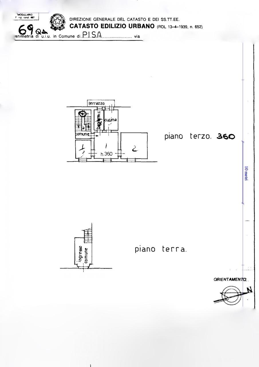 Planimetria 1/1 per rif. MQ-2912
